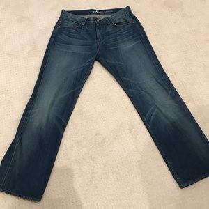 Men's 7 for all mankind jeans! Size 34